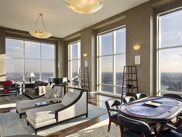 Derek Jeters 20M Ocean View Penthouse In Trump World Tower For