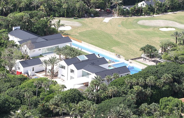tiger woods new  54 5m house on jupiter island  fl