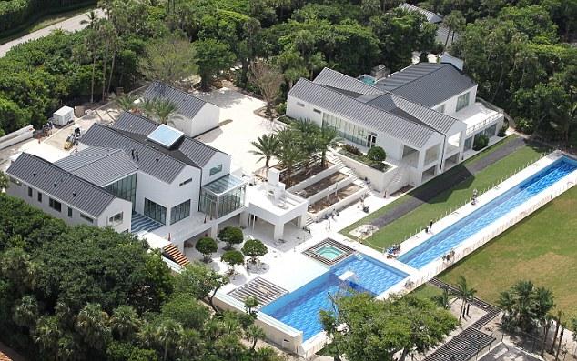 Tiger Woods New $54.5M House on Jupiter Island, FL