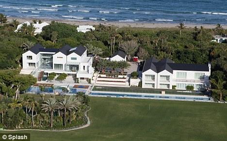 Tiger Woods New 54 5m House On Jupiter Island Fl Professional