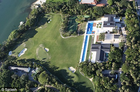 Tiger woods new 54 5m house on jupiter island fl Images of tiger woods house