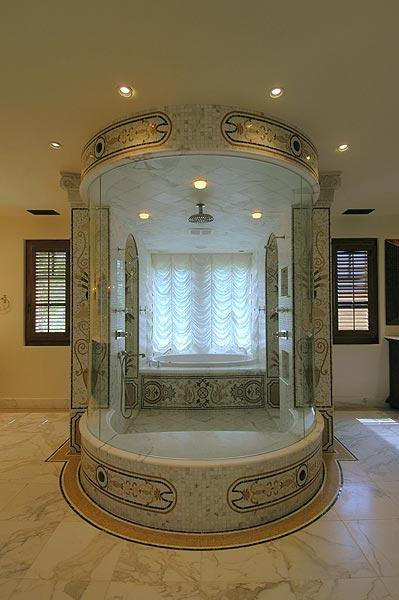Calcutta Marble Fireplace