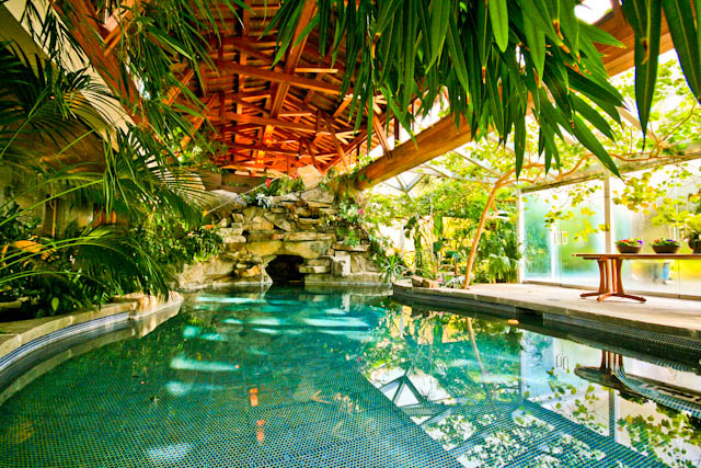 Tropical Paradise Resort House Inground Pool Hidden