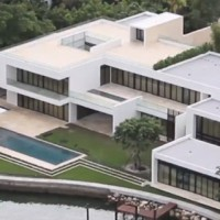 Alex Rodriguez's $24M Home in Miami Beach, FL