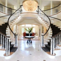 MLB Pitching Legend Tom Glavine's House with Baseball Diamond